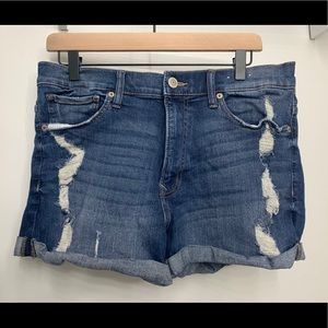 "Express 'Shortie"" denim shorts"